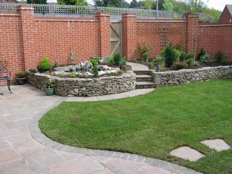 Garden designs county garden services for Domestic garden ideas